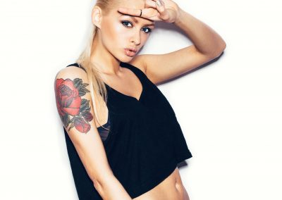 Tattoo Blond