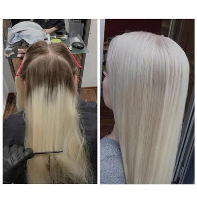 Separater Beratungstermin für die Haarfarbe