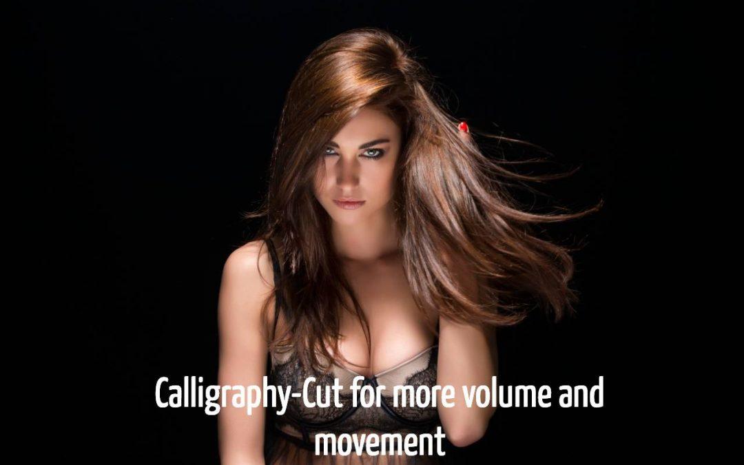 Der Calligraphy-Cut für feine und dünner Haare