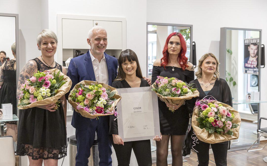 Mitarbeiter Welcome-Party bei Gress Friseure Die Haarexperten