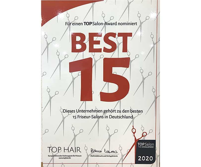 Gress Friseure Die Haarexperten gehören zu den 15 besten Salons in Deutschland.