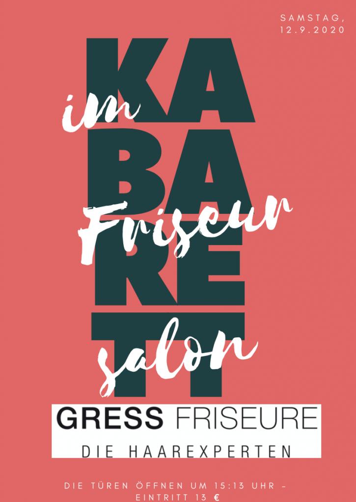 Poster Kultur im Friseursalon