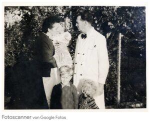 Lydia und Karl Gress mit Enkel